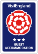 Visit England 3 Star Guest Accommodation